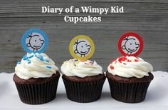 Diary of a Wimpy Kid Cupcakes