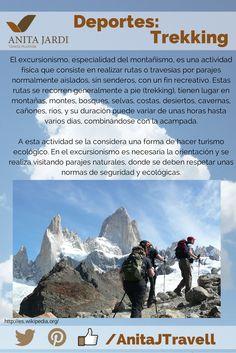 #SalíYViajá, algo de deporte suave pero con una gran vista, practicá Trekking y disfrutá el paisaje ;-)