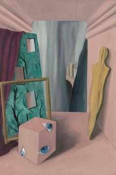 René Magritte - Le groupe silencieux, 1926.