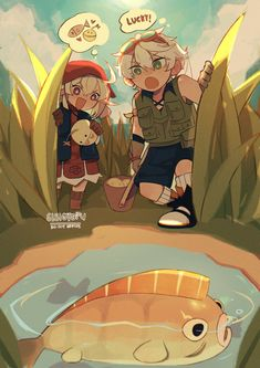 Chica Anime Manga, Kawaii Anime, Japanese Drawings, Anime Poses, Cute Pokemon, Art Reference Poses, Cute Art, Albedo, Fan Art