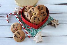 I biscottini renna di babbo Natale sono dei biscotti perfetti per il Natale, da regalare ai bambini. Vediamo come prepararli