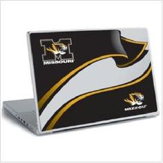 Missouri Tigers Mizzou Laptop Notebook Skin Sticker