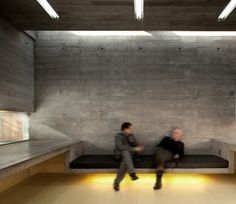 Dublin- and Lyon-based architecture firm the Architecture Republic design a studio for an artist; finding inspiration in the ordinary daily life of the artist himself. Architecture Design, Concrete Architecture, Outdoor Rooms, Small Spaces, Interior Design, Interior Walls, Contemporary, Studio, Building