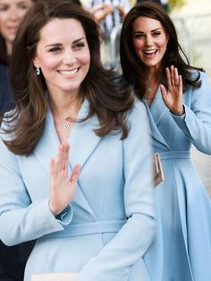 Kate Middleton the Duchess of Cambridge has revealed that her children Prince George and Princess Charlotte are learning to ride bikes as she spoke to a cyclist during a Royal visit to Luxembourg on May 11.