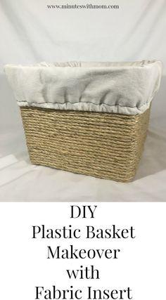 DIY Plastic Basket M