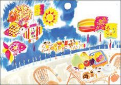 Happy Moon Festival by Meilo So - 10 Cards US$15