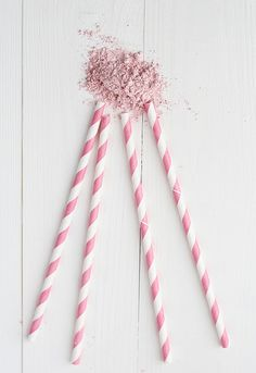 Make Your Own Halloween Candy: Homemade Pixie Sticks