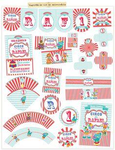 itens do kit festa circo