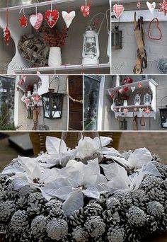 Homemade Outdoor Christmas Displays   decorated our backyard too. We have a lovely big terrace under a big ...
