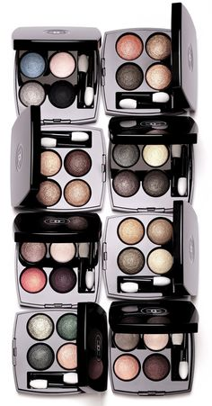 Chanel Les 4 Ombres Redefined Eyeshadow Palettes #CHANEL