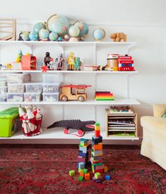 54 Enchanting Toy Storage Design Ideas For 2019 Creative Toy Storage, Ikea Toy Storage, Storage Spaces, Interior Design Toys, Ideas Dormitorios, Creative Kids Rooms, Ideas Prácticas, Room Ideas, Decor Ideas