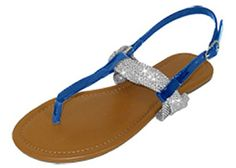 Womens T Strap Roman Gladiator Sandals Flats W/Bow 6 Colors (6373 7/8, Cobalt/Silver) Unknown http://www.amazon.com/dp/B00S71OYJW/ref=cm_sw_r_pi_dp_pplevb0AG2JS8