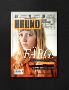 Graphic design inspiration, swedish magazine
