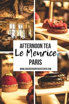 AFTERNOON TEA AT LE MEURICE PARIS // Looking for things to do in Paris in the Winter? Go for a luxurious afternoon tea! Enjoy the Dali tea room in one of the most beautiful Parisian hotels. I love the Marie Antoinette tea! Which one is your favorite? #Paris #teainParis