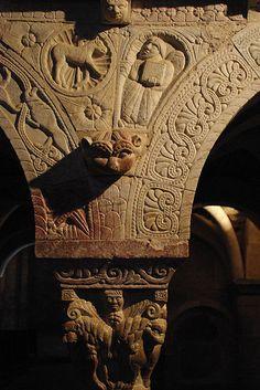 Prieuré de Serrabone (Pyrénées-Orientales) Romanesque Architecture, Carcassonne, Montpellier, South Of France, Medieval, Lion Sculpture, Statue, Religious Art, Nun