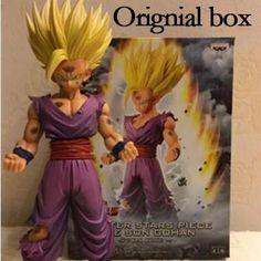 20cm Anime Dragon Ball Z Super Saiyan Son Gohan Action Figures Master Stars Dragonball Figurine Collectible Model Toy