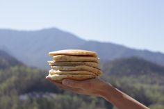 You'll find mountains of pancakes in #Gatlinburg.