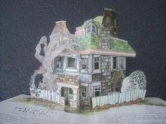 The Haunted House::Vintage Pop Up Book