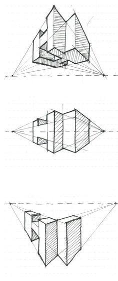 two point perspective h s