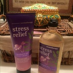 Bath And Body AromatherapyToday Sale $18 11/06 Stress Relief - Eucalyptus Tea aromatherapy set brand new! Bath And Body Works Other