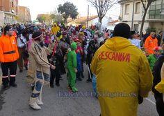 Los más pequeños desafían el frío y el viento en el desfile infantil de Carnaval Cold, Carnival