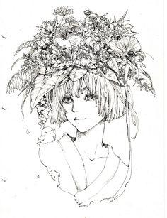 Flowers hat by Zaozi-Nanaly.deviantart.com on @deviantART
