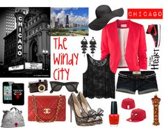 """""""CHICAGO"""" by uk2k on Polyvore"""
