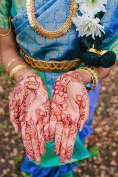 Stunningly Beautiful Indian Wedding at Kennolyn in the Santa Cruz, California Mountains // SimoneAnne.com