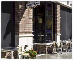 Grand Traverse Pie Company...I love sitting out on the sidewalk, sharing a great dessert with friends in the summer! Great food!