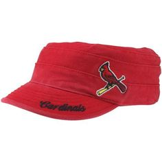 MLB St. Louis Cardinals Women's Galaxie Fidel Cap, Red by '47 Brand. $19.46. Garment washed for a broken-in look and feel. 100% Cotton Twill. Front raised embroidery. Heavy cap stitching. Visor flat embroidery. Total clean finish strap closure with brushed nickel buckle. 47 Brand provides the quality all true fans desire in their gear. Known for their vintage look and feel, '47 has managed to also provide a new school spin to this old school craze. Featuring tight, crisp s...