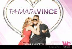 Tamar & Vince #wetv #television #tv #tvshow #televisionshow #tvseries #tamar #tamarbraxton #vince #vincentherbert #tamarandvince #vinceandtamar #loveandwar #allthewayhome #hotsugar #tamartian #tamartians #getyourlife #shedidthat #realityshow #realitytv @Tamar Braxton @WE tv