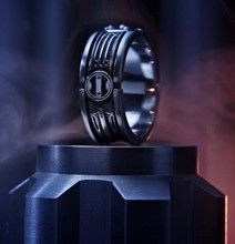 Star Wars Wedding Ring: Until The Force Do Us Part -- For my love, maybe?