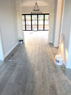 Customer in Texas just sent in this photo while installing their new Vintage Collection Barnwood floor. Love this color!