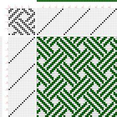 draft image: 16256, 2500 Armature - Intreccio Per Tessuti Di Lana, Cotone, Rayon, Seta - Eugenio Poma, 16S, 16T