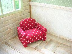 *miniソファ*の作り方|ドールハウス|アート・雑貨|作品カテゴリ|アトリエ