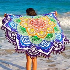 New Style Rounded Beach Towel..... #sale #shop #cute #trendy #beach #pool #vacation #beachparty #beachday #poolparty #poolday #vacay #summersale #fashionista #miami #cali #vegas #hot #summer #sun #fun #original