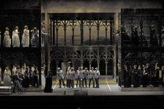 Mathis der Maler. Opera national de Paris. Scenic design by Pierre-André Weitz