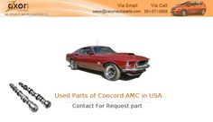 If You Are Search for Parts of Concord AMC Market in USA by Manufacturer ? Zaxon auto parts offers a wide selection of Used Parts of Concord AMC Market USA by Manufacturer , so you can Used Auto Parts in USA by Car Manufacturer at a great price. Visit  http://ipt.pw/AOXZhc