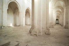 Cistercian abbey, Pontigny Burgundy, France, ©Emmanuel Breton Mougins France, Romanesque Architecture, Exhibition, Expositions, Burgundy France, Temples, Castles, Places, Decorating