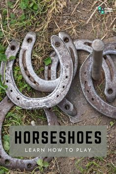 Like Four Square, horseshoes is one of those great outdoor games that requires very little equipment. Learn the rules and equipment you need to play, with our complete guide.  #groupgames #games #groupgames101 #horseshoe #horseshoegame #outdoor #outdoorgames #fun #play Outdoor Wedding Games, Wedding Games For Guests, Fun Outdoor Games, Birthday Party Games Indoor, Kids Party Games, Games For Kids, Virtual Family Games, Youth Group Games, Outdoor Games For Preschoolers
