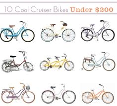I've been on the hunt for the perfect European style city bike and came across a bunch of cute cruisers at Walmart, of all places, for a steal! Most of these are under $200 (see my picks here!) Do you have a cruiser or city bike you trek around town in? I'm going to check …