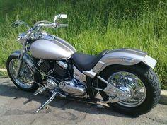 Dragstar 650 custom bobber