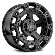 BLACK RHINO® - CINCO Gloss Black with Stainless Bolts. The wheel can be ordered in diameters. Choose your rim width, offset, bolt pattern and hub diameter from the option list. Rims And Tires, Wheels And Tires, Black Rhino Wheels, Black Bolt, Black Singles, Truck Wheels, Custom Wheels, Ebay, Truck Parts