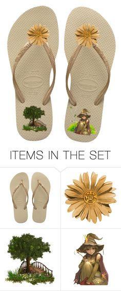 """""""Fairyland"""" by swgcreations ❤ liked on Polyvore featuring art and FlipFlops"""