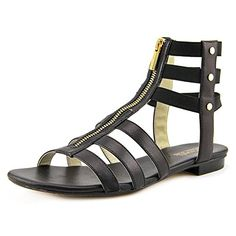 c02b8dc39 Michael Kors Codie Black Leather Sandal Women Size 55 M    Learn more by  visiting