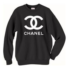 Chanel Crewneck Sweatshirt dope brand swag crew neck by ideenr, $24.95... ❤ liked on Polyvore featuring tops, sweaters, chanel tops, crew top, crew-neck tops, christmas tops and chanel
