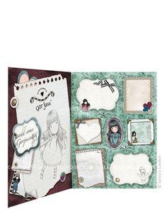 Folder of Labels - New Heights, Santoro's Gorjuss