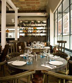 Richard Lewisohn : The Riding House Café à Londres | FLODEAU