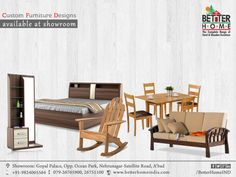 Custom Furniture design - Better home  #BetterHome#Furniture   #Ahmedabad   #HomeFurniture  #ComfortBed