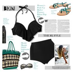"""Bikini"" by tawnee-tnt ❤ liked on Polyvore featuring Xhilaration, Sensi Studio, Monki, Barneys New York, Cocobelle, Soleil Toujours, Balenciaga, Industrie, beach and summer2016"